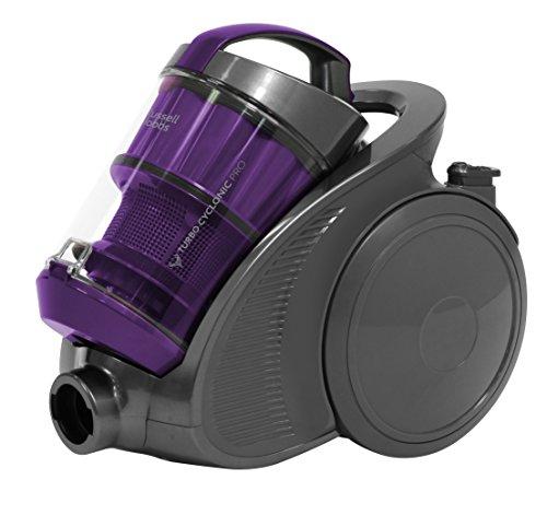 Russell Hobbs RHCV2002 2L Turbo Cyclonic Pro 900w Cylinder Vacuum Cleaner Gun Metal - Free 2 year guarantee