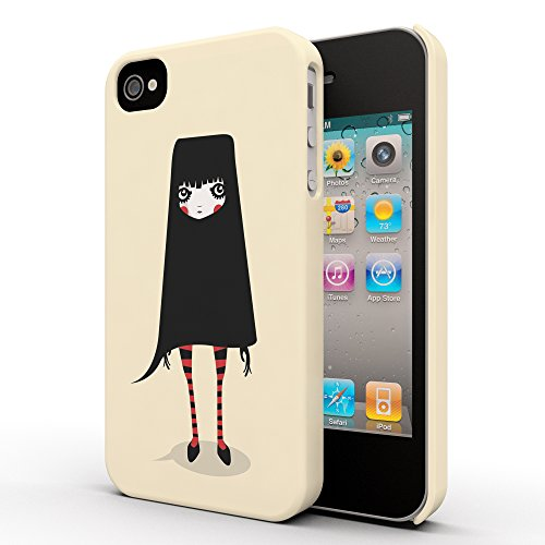 Koveru Back Cover Case for Apple iPhone 4/4S - Covered Cat