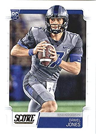 039bbd8b6f8 Amazon.com: 2019 Score #331 Daniel Jones Duke Blue Devils Rookie ...