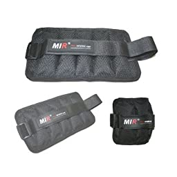 MiR Unisex- Adult 5LBS Ankle/Wrist Weight