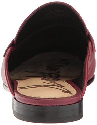 Mocassino Slip-on Sam Edelman Donna In Pelle Color Rosso Tango