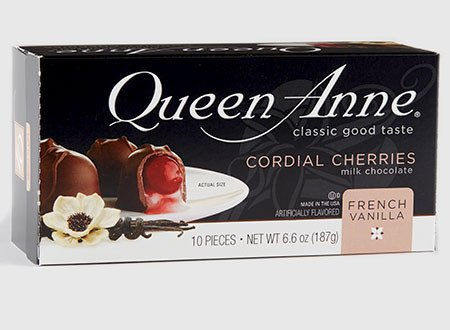 QUEEN ANNE Cordial French Vanilla 6.6 OZ Box. Pack of 2