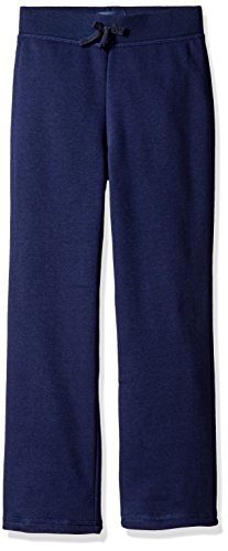 The Children's Place Little Girls' Gym Uniform Fleece Pant, Tidal, Small/5/6 by The Children's Place