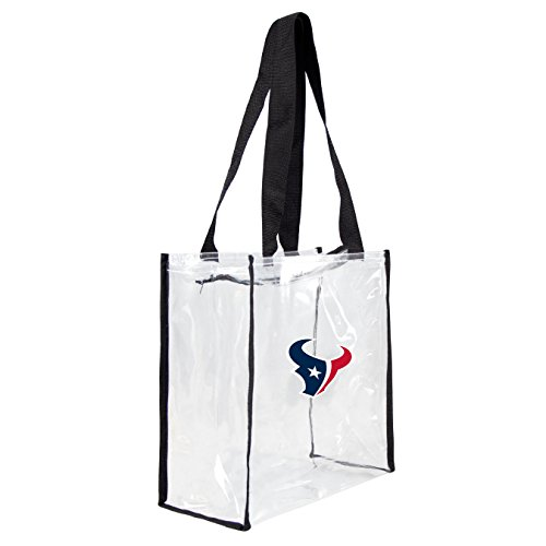 Littlearth NFL Houston Texans Clear Square Stadium Tote