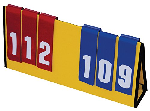 Sportime 1478838 Vinex Light-Weight Multi-Sport Scoreboard, Polyester Fabric, 23