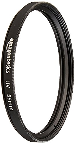 AmazonBasics - Filtro de proteccion UV - 58mm