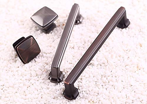Blue-Ocean-11-10PCS/LOT CC=0mm American Zinc Kitchen Cupboard Cabinet Square Handle Handles Pull Pulls Knob - Cabinet 0mm