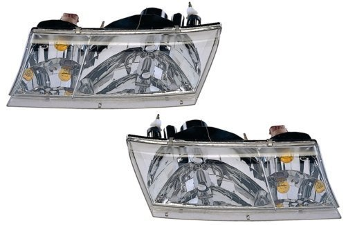 Mercury Grand Marquis Replacement Headlight Assembly - (Mercury Grand Marquis Headlamp Assembly)