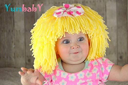 Cabbage Patch inspired Costume - Baby Wig for Halloween]()