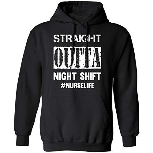 Teescircle Nurse Gifts for Women Tshirt Shirt Long Sleeve Funny #nurselife -