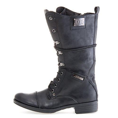 J75 by Jump Womens Talon-W Military Boot Black Fp1Dq