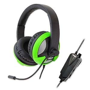 Oblanc UFO True 5.1 Sound USB Gaming Headset, Green (OG-AUD63061)