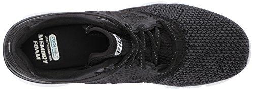 Fila Women's Memory Multiswift 3 Running Shoe Black/Black/White Ffv3UEQ