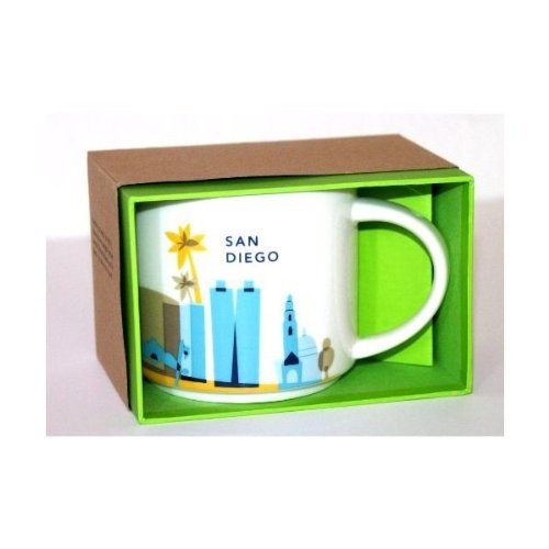Starbucks New You Are Here Collection San Diego, 14 oz