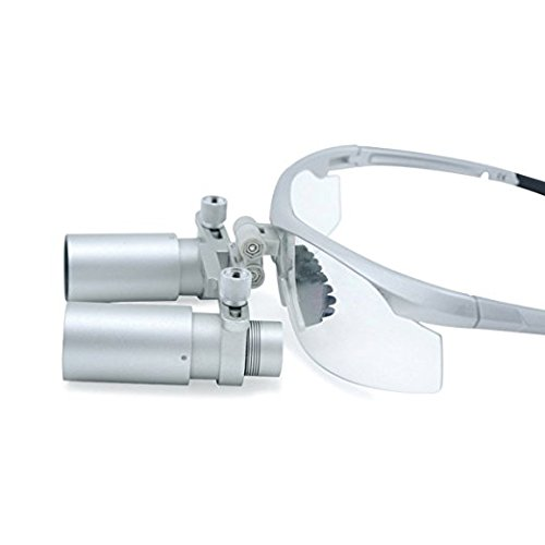 5.0X 420mm Working Distance Dental Surgical Medical Binocular Loupes with Ultra-light and High Brightness Optical Glasses by by Url Dental (Image #5)