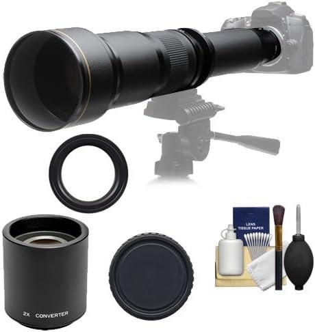 Rokinon 650 – 1300 mm f/8 – 16 Teleobjetivo zoom lente con 2 x ...