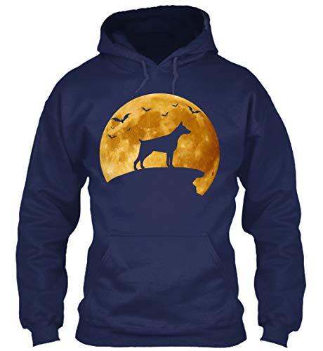 Halloween Costumes for. XL - Navy Sweatshirt - Gildan 8oz Heavy Blend Hoodie -