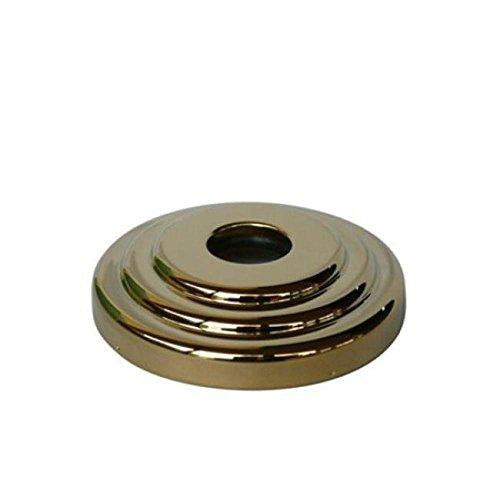 - Kingston Brass Polished Brass Finish Made to Match Decor Escutcheon