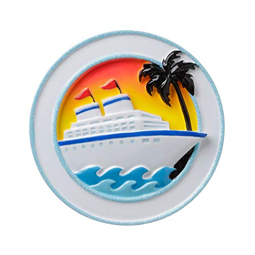 - Personalized Cruise Ship Christmas Tree Ornament 2019 - Board Tour Travel Ocean Hop On Top Get-Away Sea Summer Wave Tropic Palm First Vacation Trip Tourist Visit Tradition Year - Free Customization