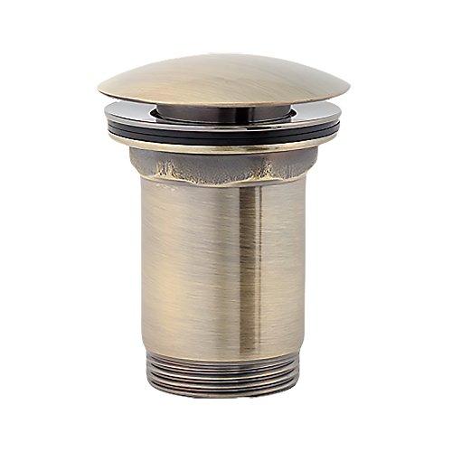 26 opinioni per Piletta con tappo per lavabo Aquabad®   Omnires® Click-Clack, Push-Up   Colore: