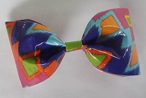 - Ikat Fever Duct Tape Bobby Pin Hair Bow or Bow Tie