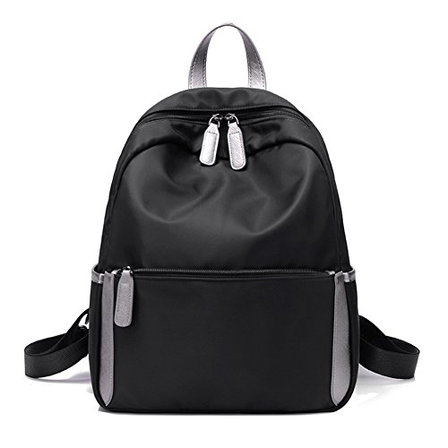 Nylon bandolera versión coreana/bolsa casual salvaje sencilla Sra./Pequeña mochila de viaje/bolsa de lona-A E
