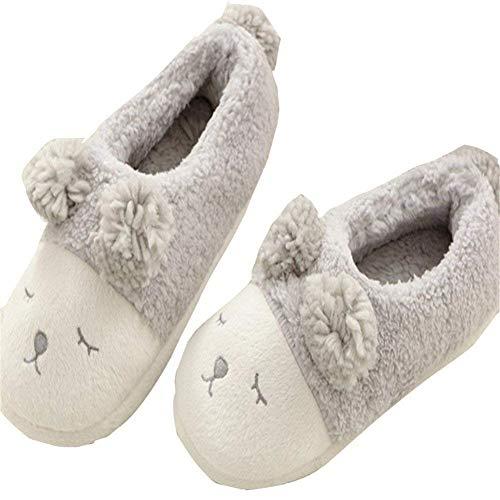 In 36 Antiscivolo Cotone Donna Sed Pantofole Da 37 Home Scarpe Indoor wOqnC64xH1