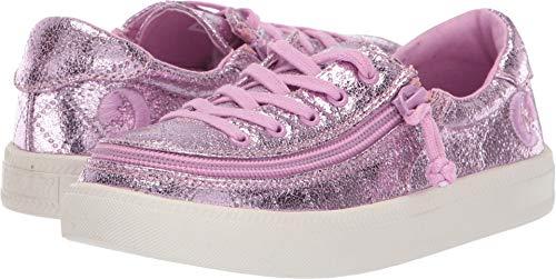 BILLY Footwear Kids Baby Girl's Classic Lace Low (Toddler/Little Kid/Big Kid) Pink Metallic 12 M US Little Kid