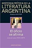 img - for Historia Critica de La Literatura Argentina (Spanish Edition) book / textbook / text book