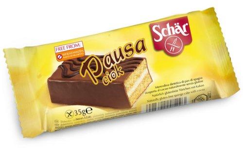 Dr. Schar Pausa Ciok Pastelito - Paquete de 10 x 35 gr - Total: 350 gr: Amazon.es: Alimentación y bebidas