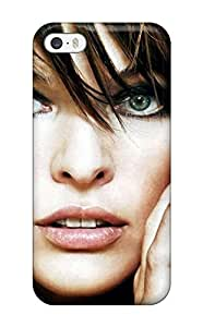 Protective Tpu Case With Fashion Design For Iphone 5/5s (milla Jovovich Celebrity People Celebrity)