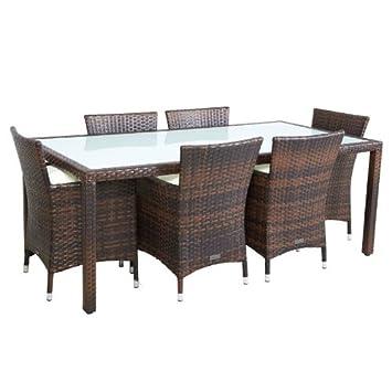 Gartentisch Mit Stuhlen Rattan