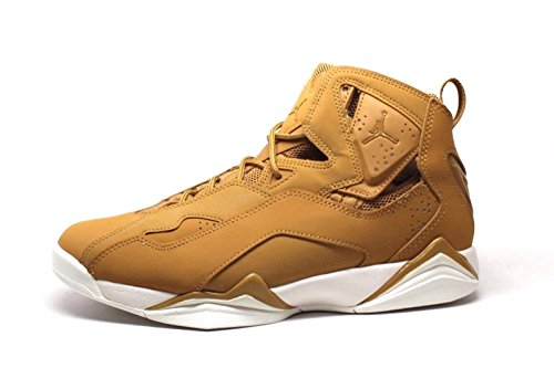 Men's Jordan True Flight Basketball Shoe, Golden Harvest/Golden Harvest-Sail, 9.5
