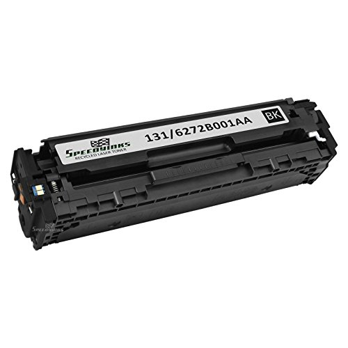 Speedy Inks - Remanufactured Canon 6272B001AA 131 Black Laser Toner Cartridge for for use in Canon Color ImageCLASS MF8280Cw, Canon Color imageCLASS LBP7110Cw