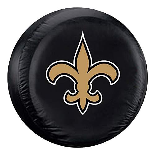 Fremont Die NFL New Orleans Saints Tire Cover, Large Size (30-32