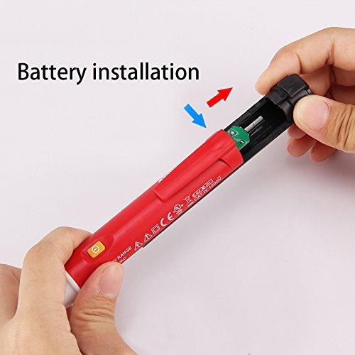 Signstek Maintenance and Test Electrical Test Kit, Including Palm Size Multimeter, Receptacle Tester and AC Voltage Detector by Signstek (Image #4)