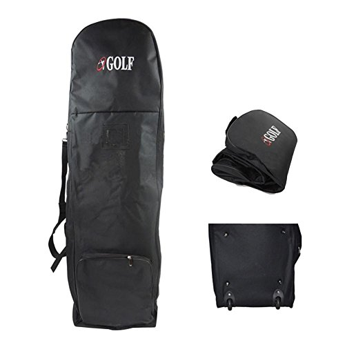 C-Pioneer Golf Travel Bag for Airlines with Wheels Golf Club Travel Cover To Carry Golf Bags by C-Pioneer (Image #1)