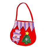 Bluelans Christmas Decorations, Lovely Reindeer Bear Christmas Flannel Cloth Mini Handbag Candy Bag Kids Gift Xmas Gifts Xmas Stocking Fillers