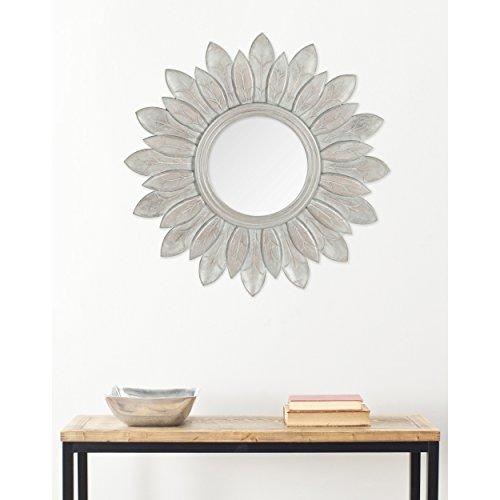 Safavieh Home Collection Sun King Mirror, Grey - Sun Mirror Golden
