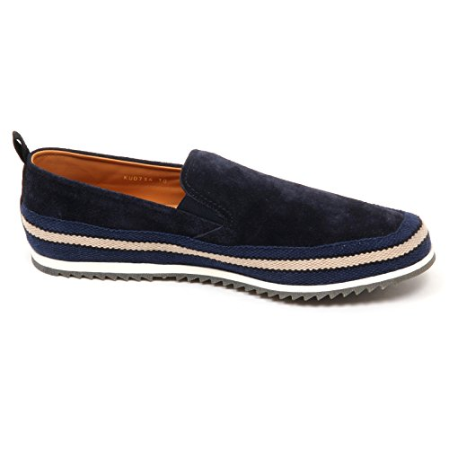 On Scarpe Shoe D2510 Mocassino Uomo Slip Blu Car Man Loafer gI06xqw6
