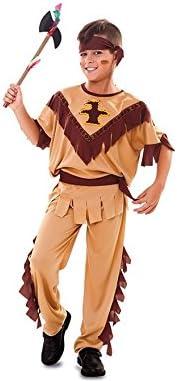 Disfraz de Indio con tótem para niño: Amazon.es: Juguetes y juegos