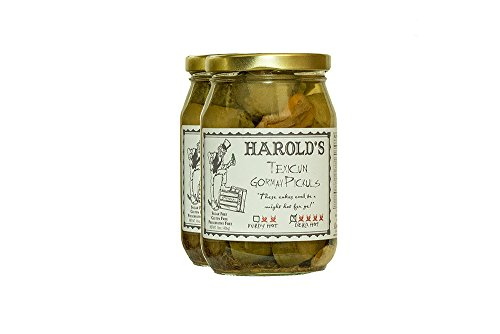 Harold's Spicy 4X Habanero Dill Pickle 2/16oz - Dill Pickles Spicy