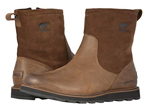 Sorel Men's Madson Moc Toe Boots (Tobacco/Black, 10 M US)