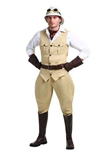 Safari Hunter Mens Costume Large]()