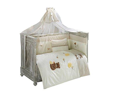 Baby Bettgitter-Schutz 2x Katenschutz 45x120cm, 1x Kopfschutz 45x80cm