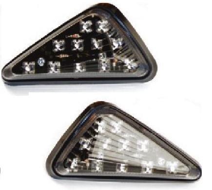 LP USA Turn Six LED Turn Signal Clear Lens