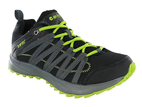 Hi-Tec ,  Scarponcini da camminata ed escursionismo uomo Multicolore Black/Lime 41 - 47 EU