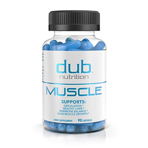 Strength Builder - Muscle Recovery Workout Supplements by dub Nutrition | Testosterone Booster | Liver Cleanse Detox | Muscle Builder with BCAA, Milk Thistle, Saw Palmetto, Tribulus, and Beta Alanine