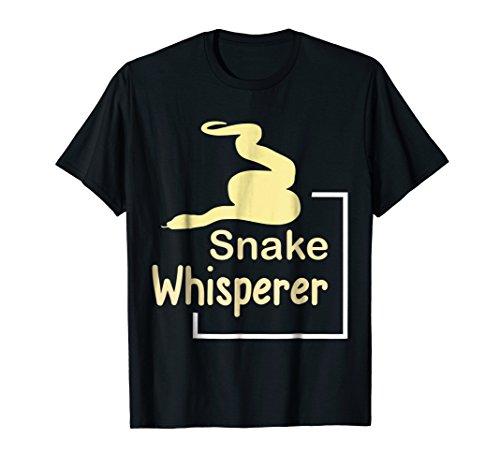 Mens Snake Whisperer T-Shirt - Funny Pet Snake Tee Medium ()