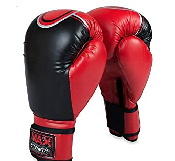 Pro Boxing Training Sparring Gloves Martial Arts UFC Fight Muay Thai Mitts 8 oz